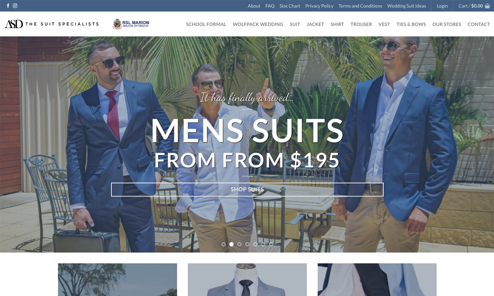 AdelaideSuits Direct