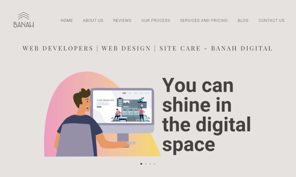 Banah Digital: Web Developers | Web Design | Site Care