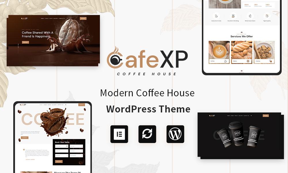 CafeXP | Cafe & Coffee Shop WordPress Theme