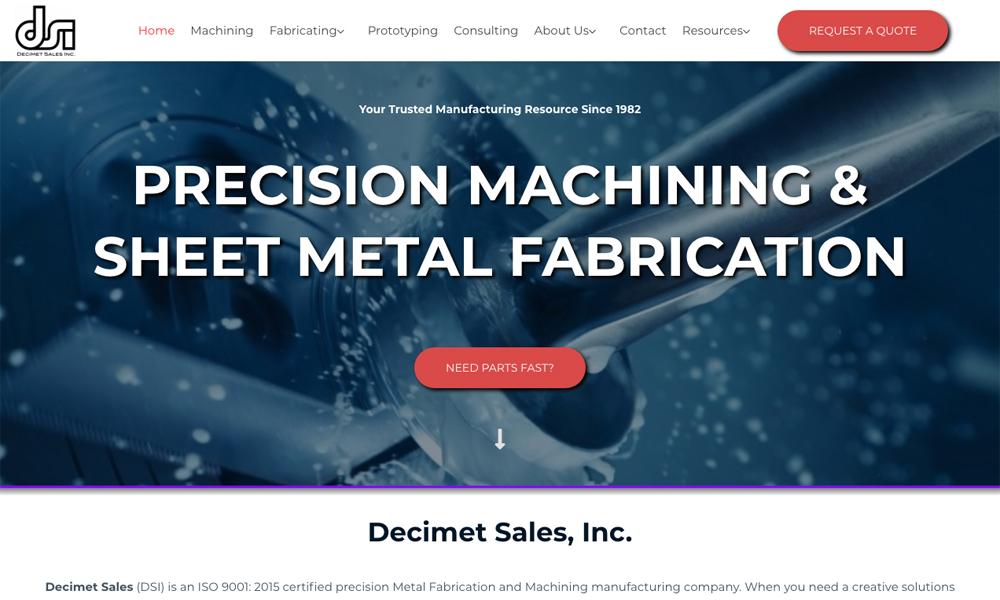 Decimet Sales Inc