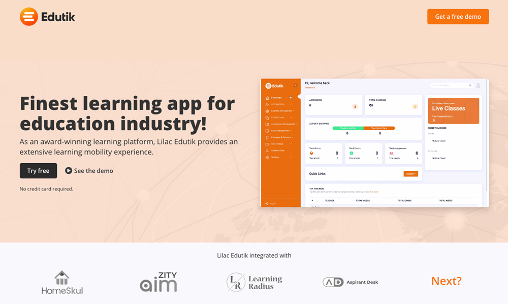Edutik - Lilac Infotech