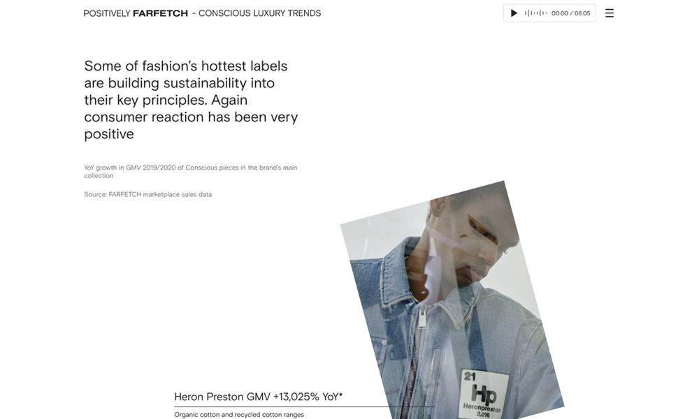 FARFETCH - Conscious Luxury Trends