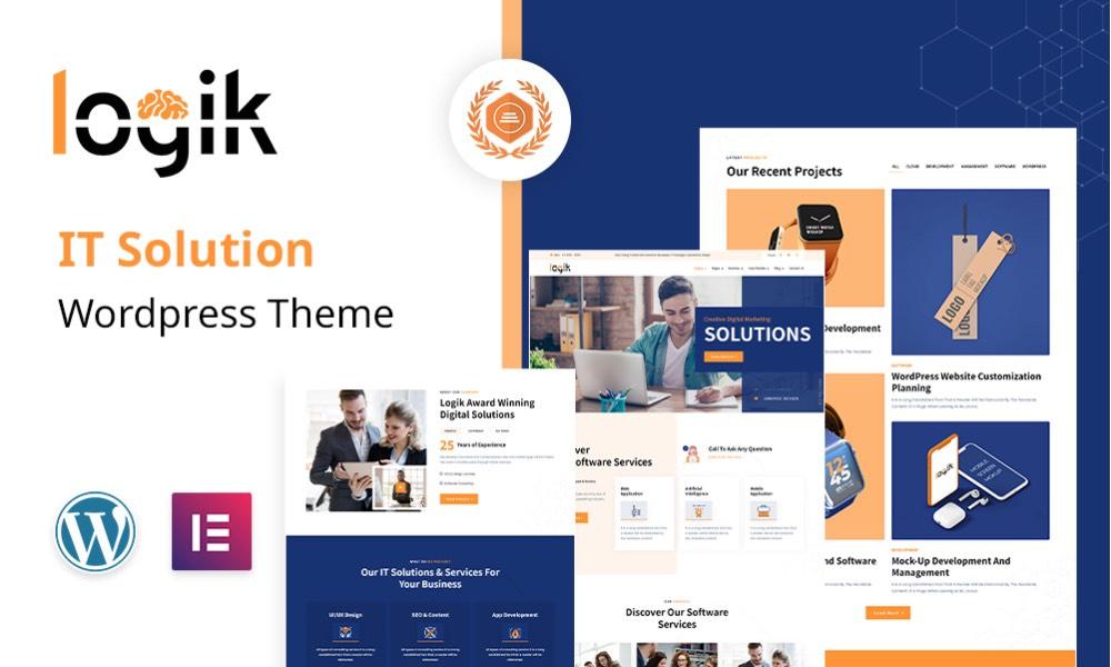 Logik | IT Services WordPress Theme