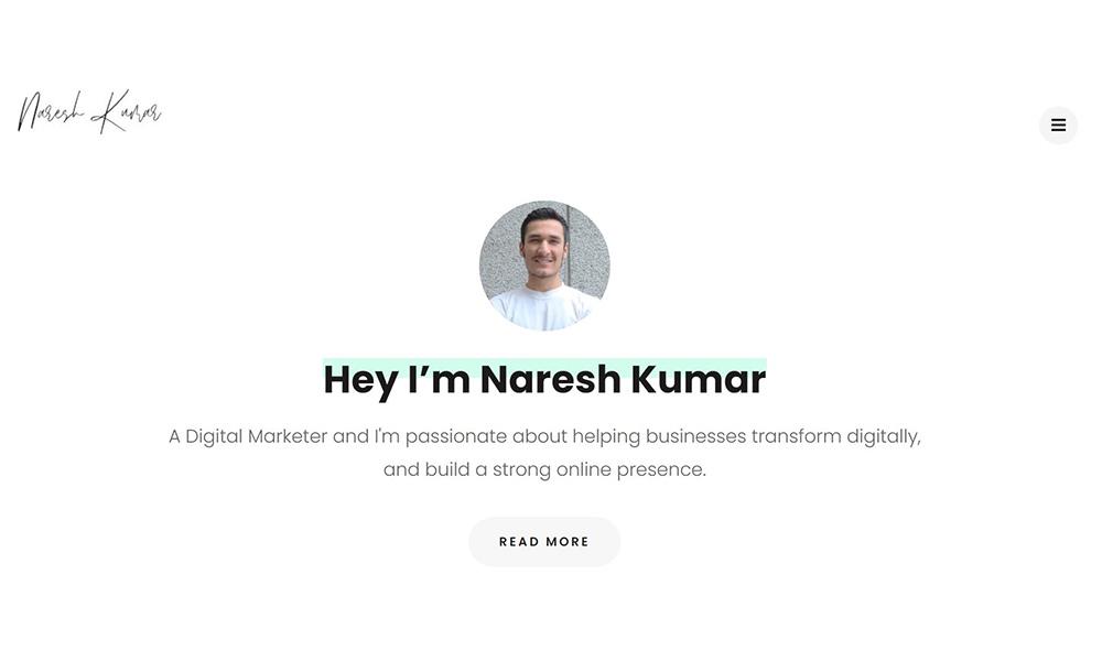 Naresh Kumar Digital Marketer