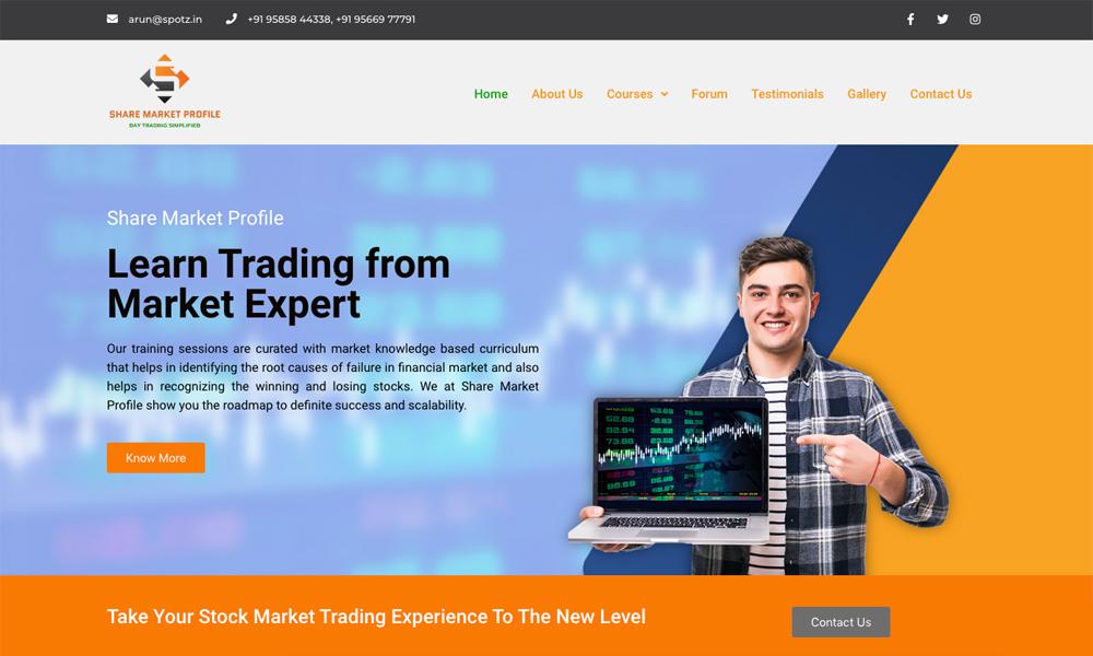 Share Market Profile