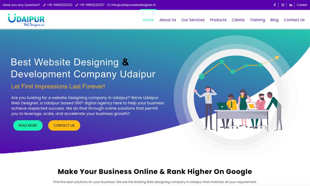 Udaipur Web Designer