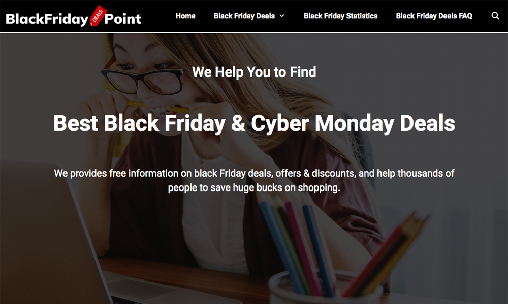 Black Friday Deals Point