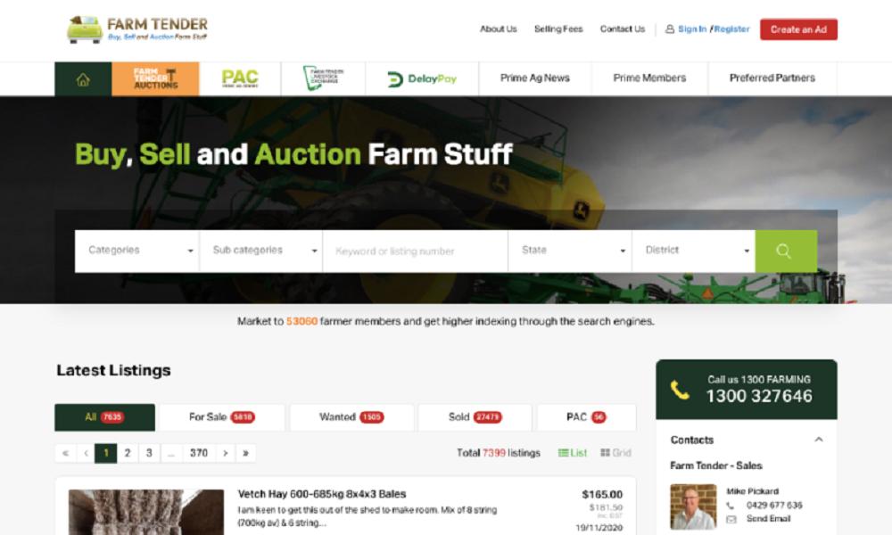 Farm Tender