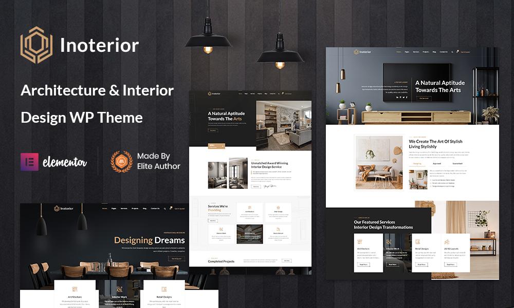 Inoterior - Architecture WordPress for Interior Designer