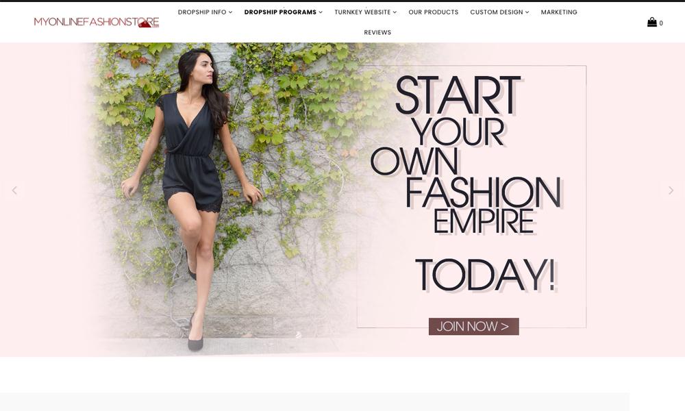 My Online Fashion Store