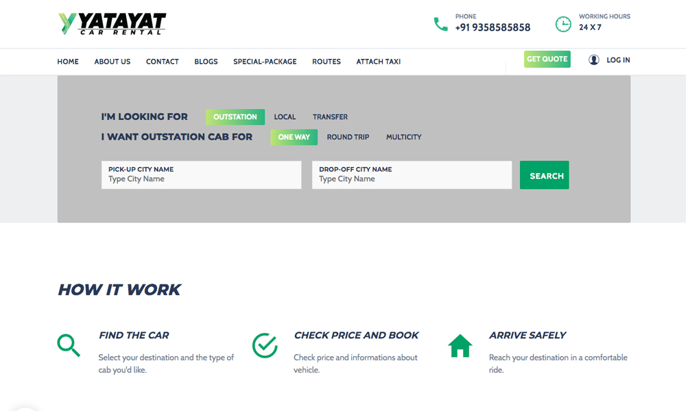 YATAYAT Car Rental