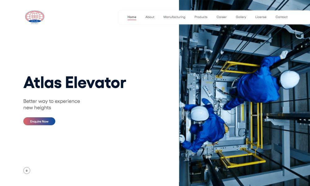 Atlas elevator