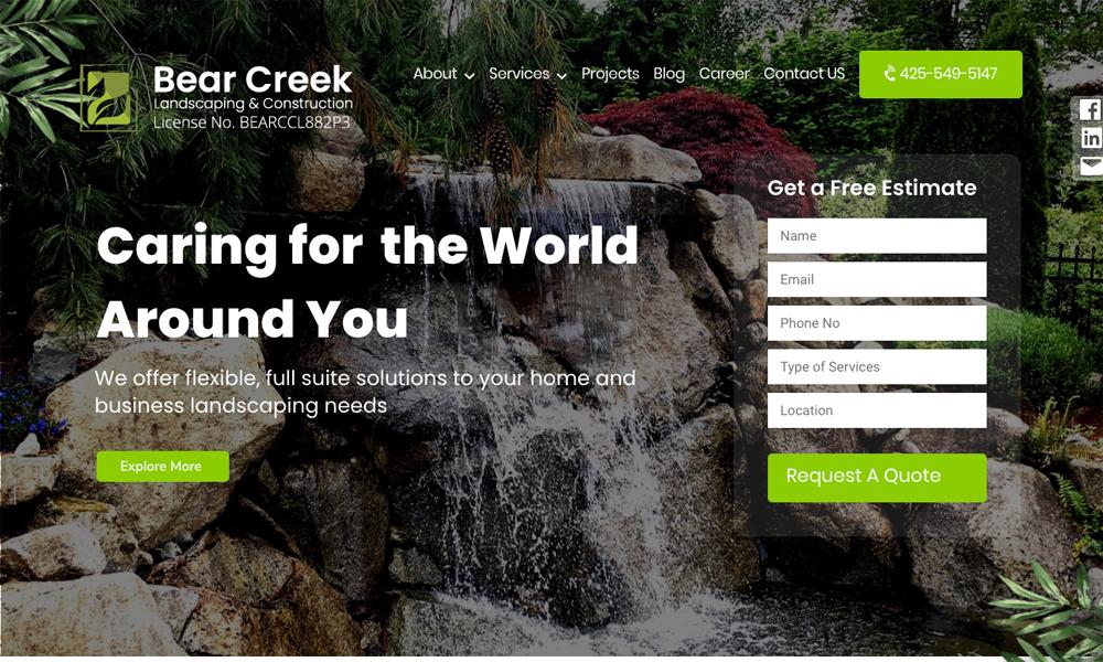 Bear creek Landscaping