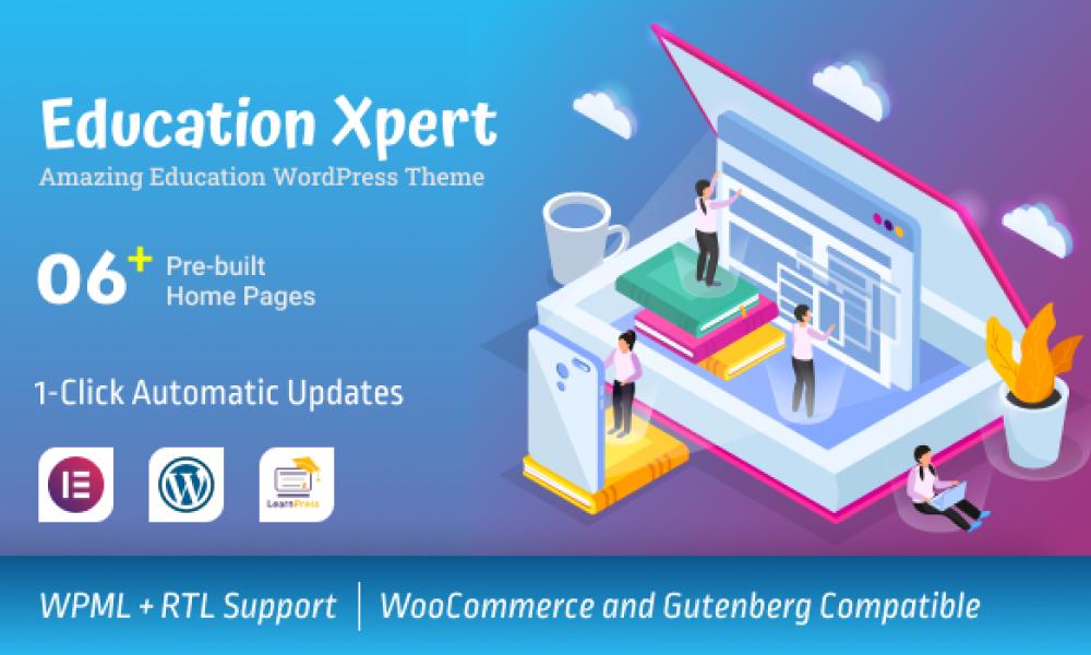 Education Xpert – Best Free Education WordPress Theme