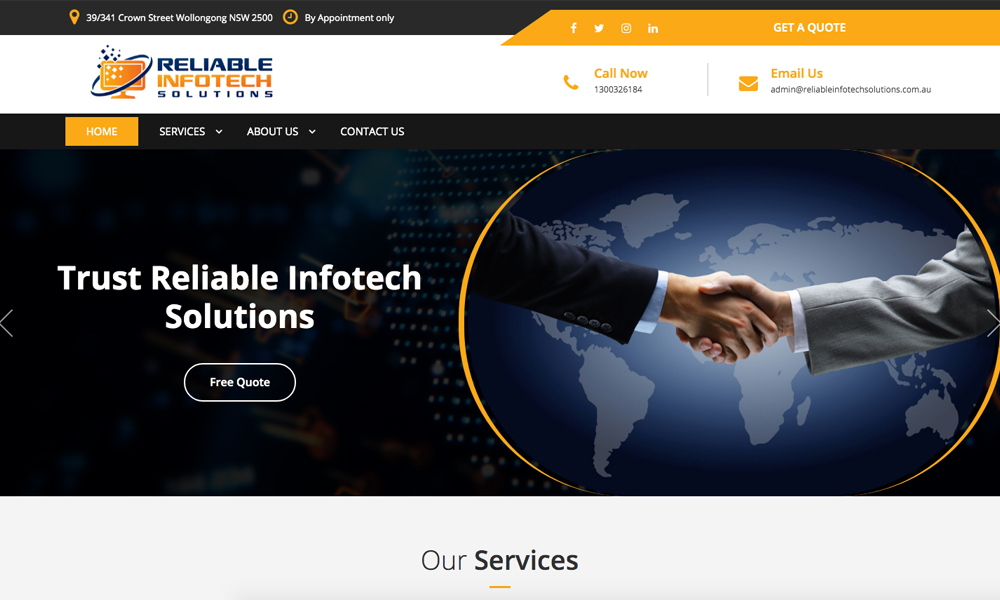 Reliable infotech solutions