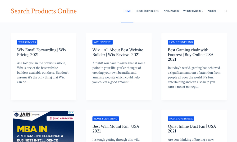 Search Products Online