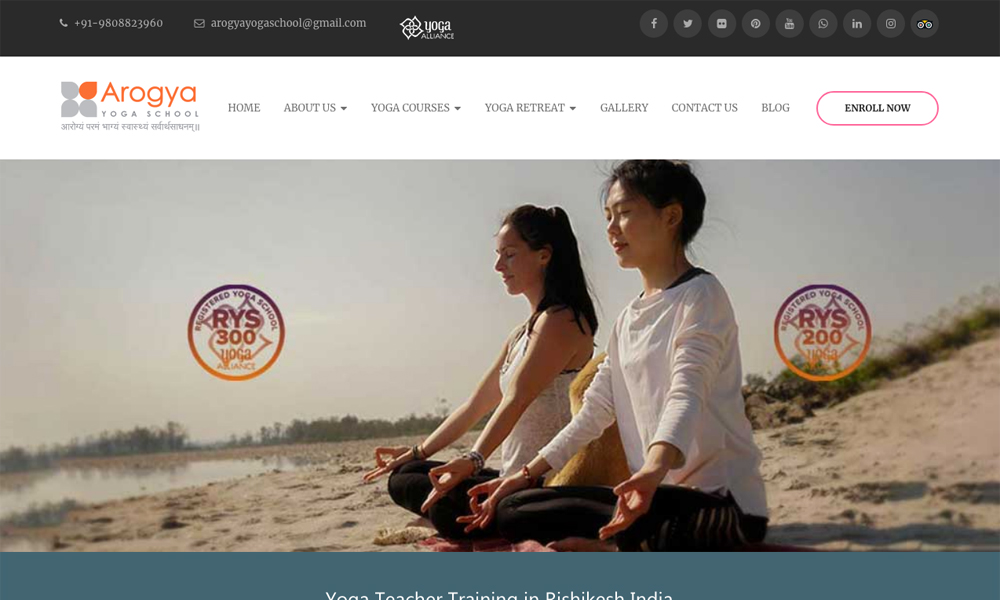 Yoga Teacher Training School