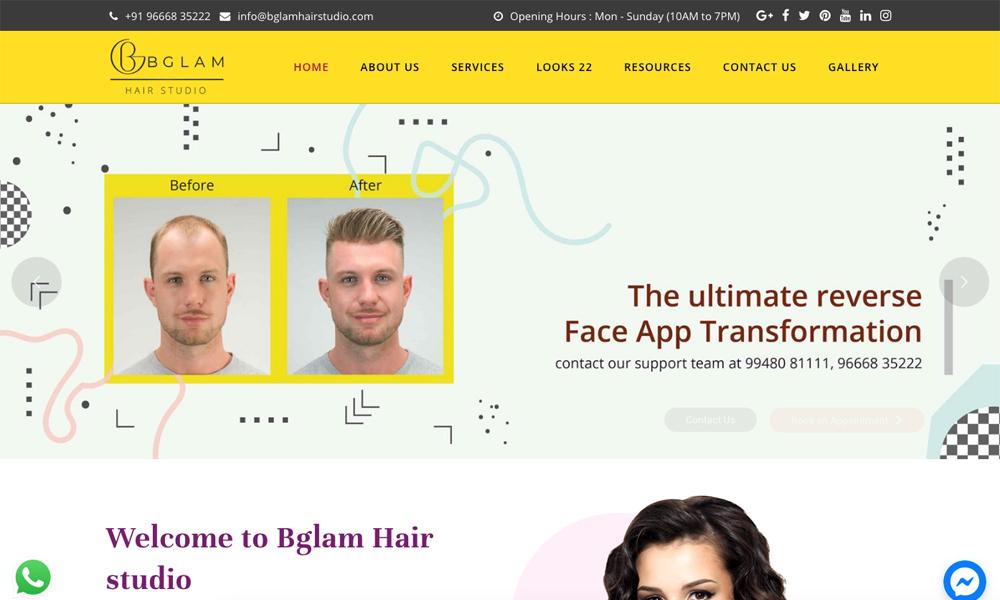 BGLAM Hair studio
