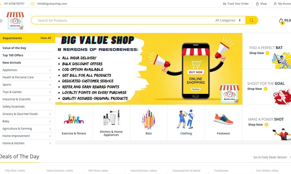 Bigvalue shop