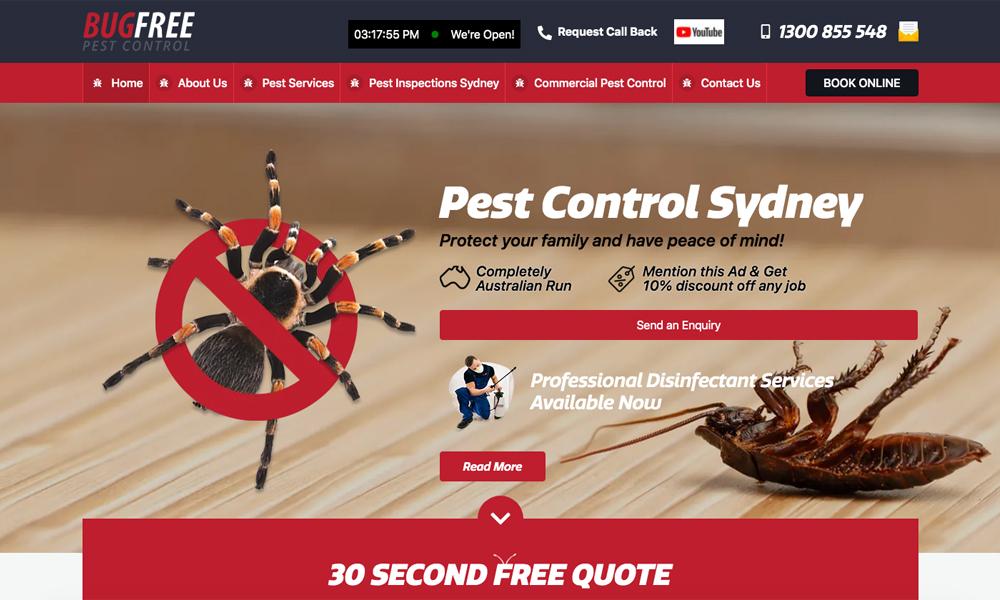 Bug-Free Pest Control