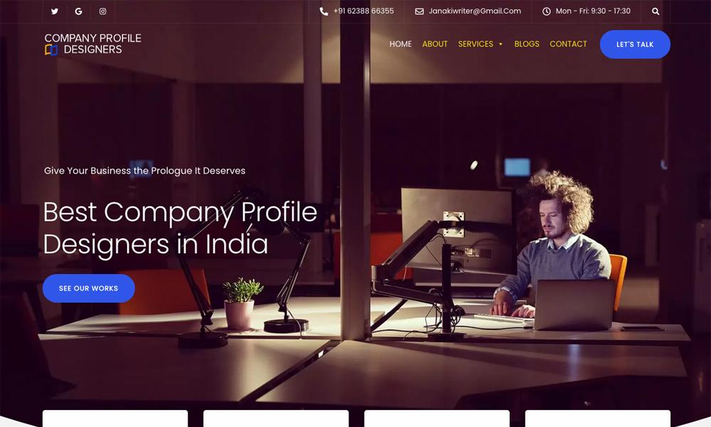 Company Profile Designers