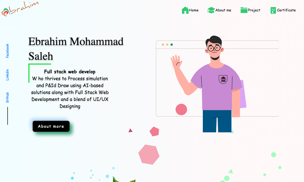 Ebrahim Mohammad Saleh Portfolio