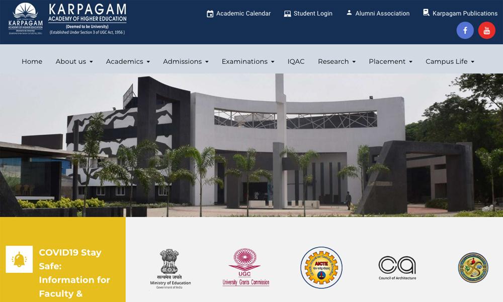 karpagam academy of higher education