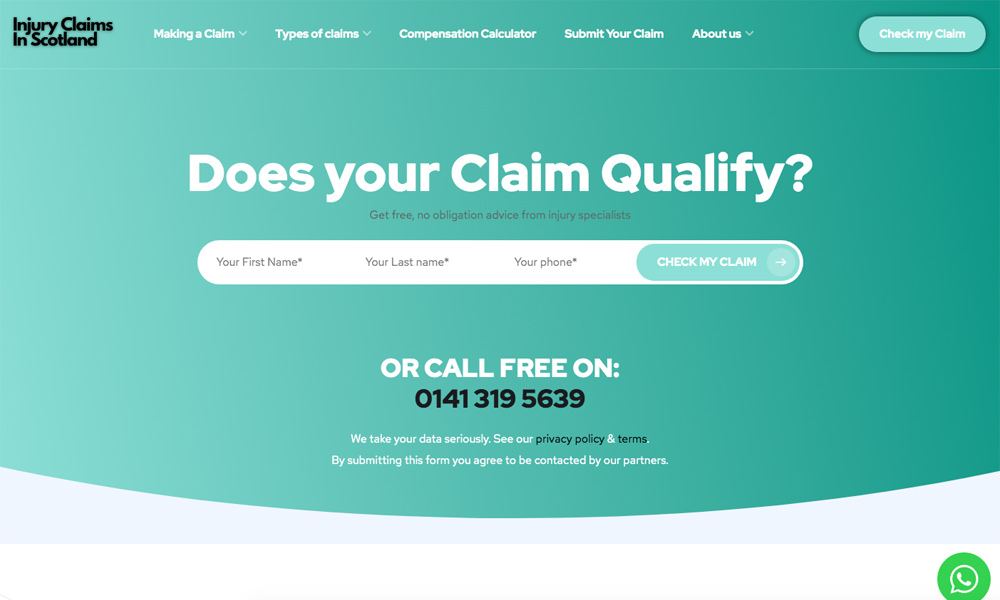 Personal Injury Claims InScotland