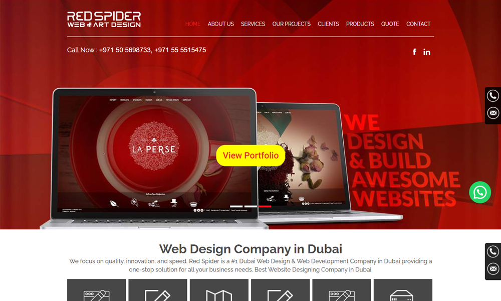 RedSpider Web & Art Design