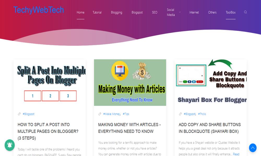 Techy Web Tech