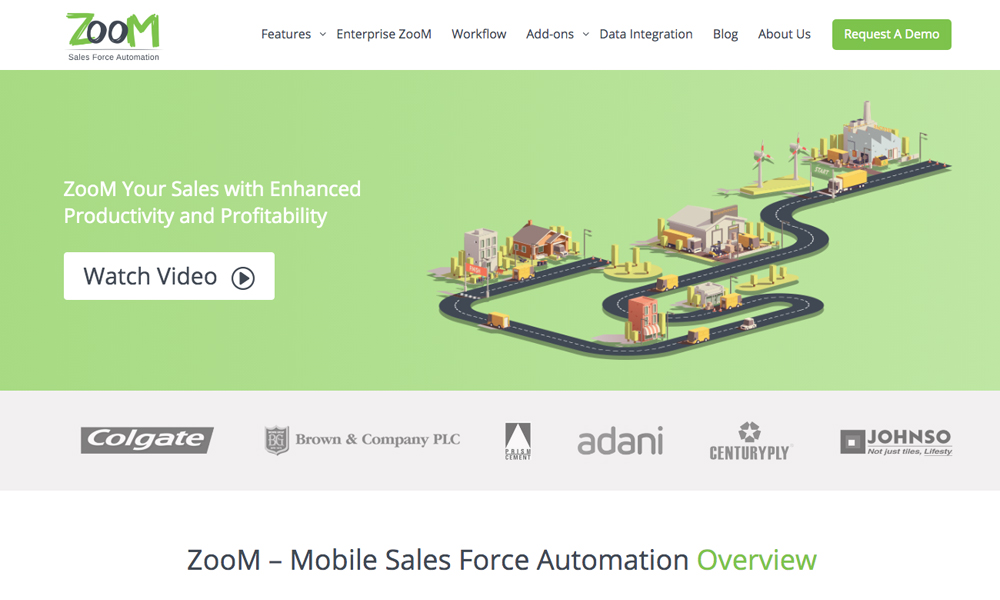 ZooM - Mobile Sales Force Automation