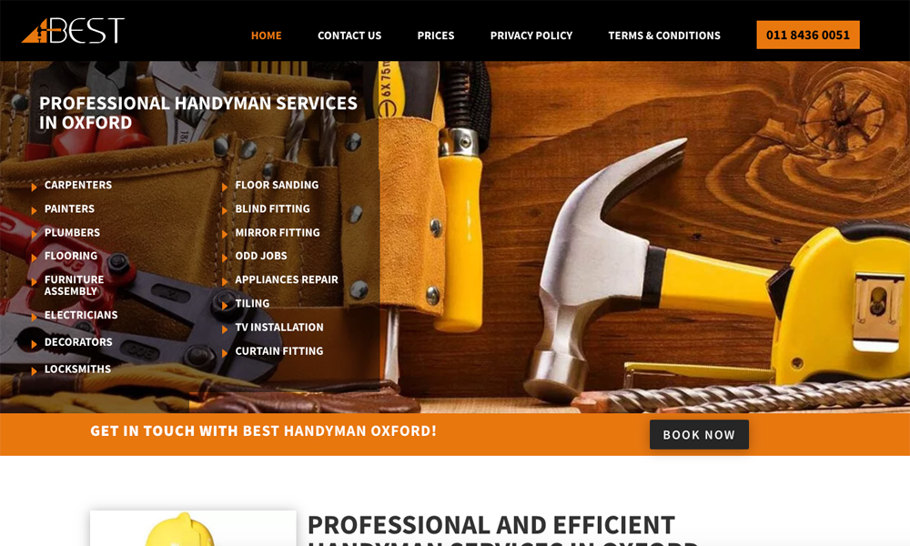 Best Handyman Oxford