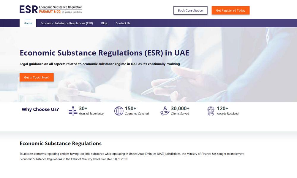 Economic Substance Regulations (ESR)