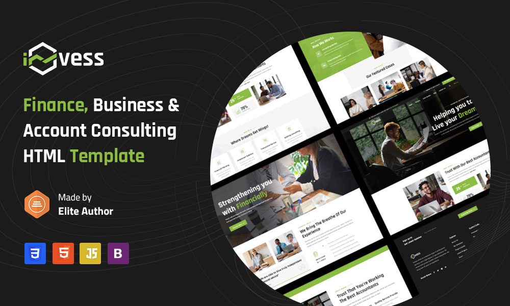 Invess - Accounting and Finance Consulting Html Template
