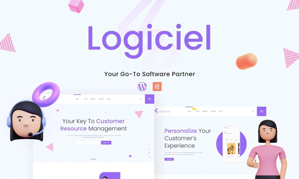 Logiciel | Best Free WordPress theme for IT Services