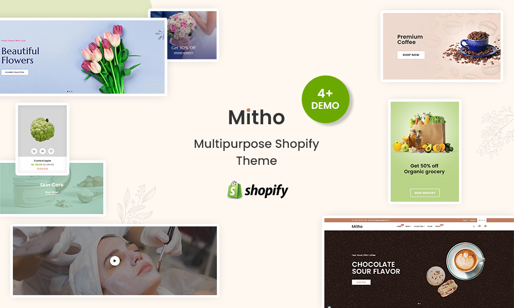 Mitho - Multipurpose new features shopify theme