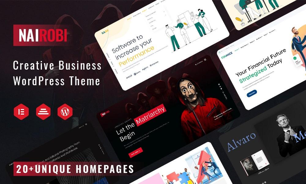 Nairobi | Multipurpose Creative Business WordPress Theme