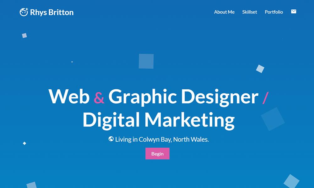 Rhys Britton Online Portfolio