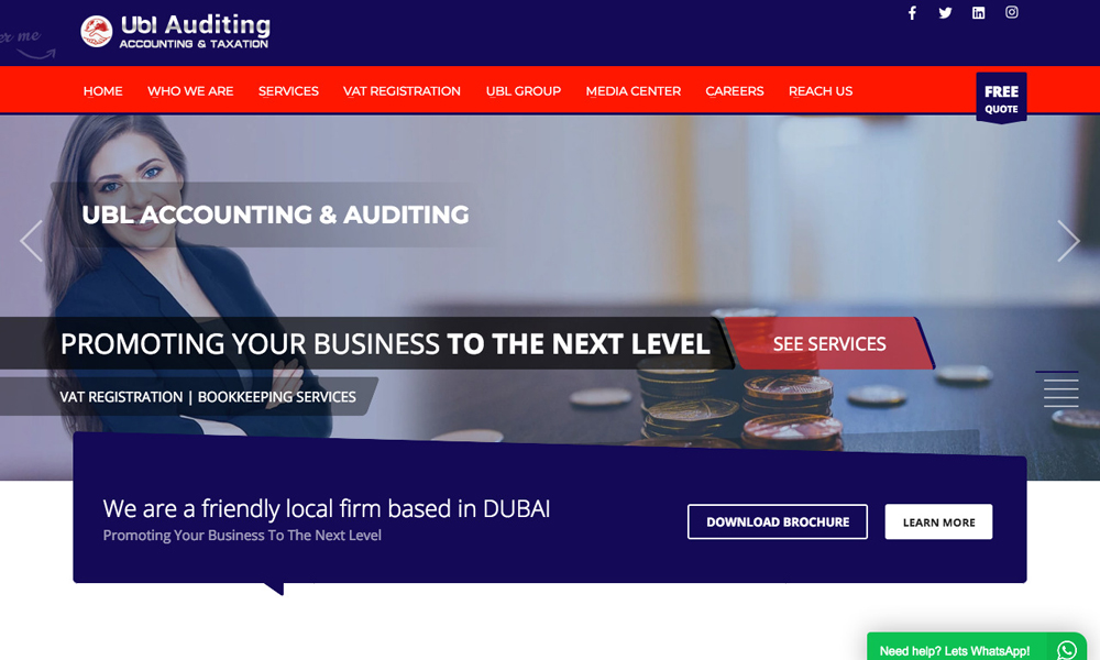 UBL Auditing
