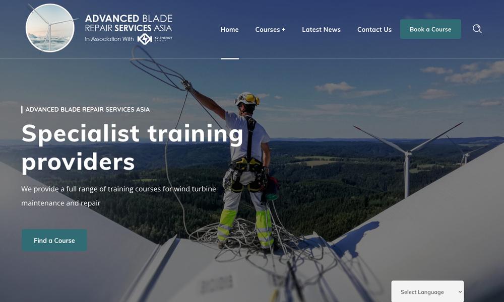 Advanced Blade Repair Services Asia