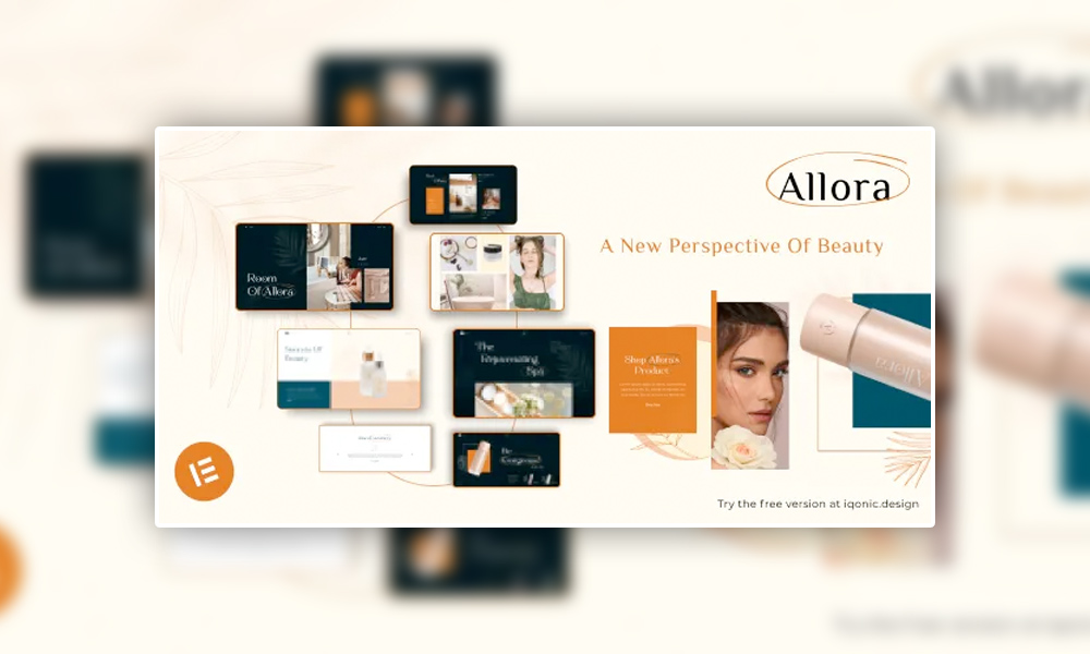 Allora   Best Free WordPress Theme For Spa and Beauty