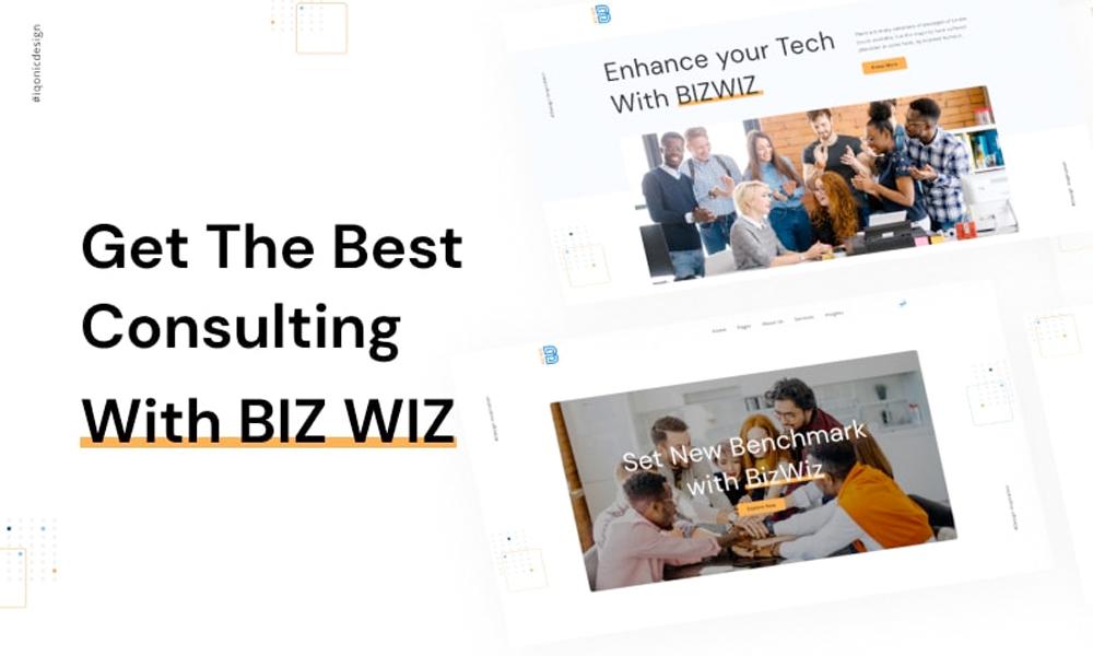 Bizwiz | Best Free WordPress Theme for Business Consultancy