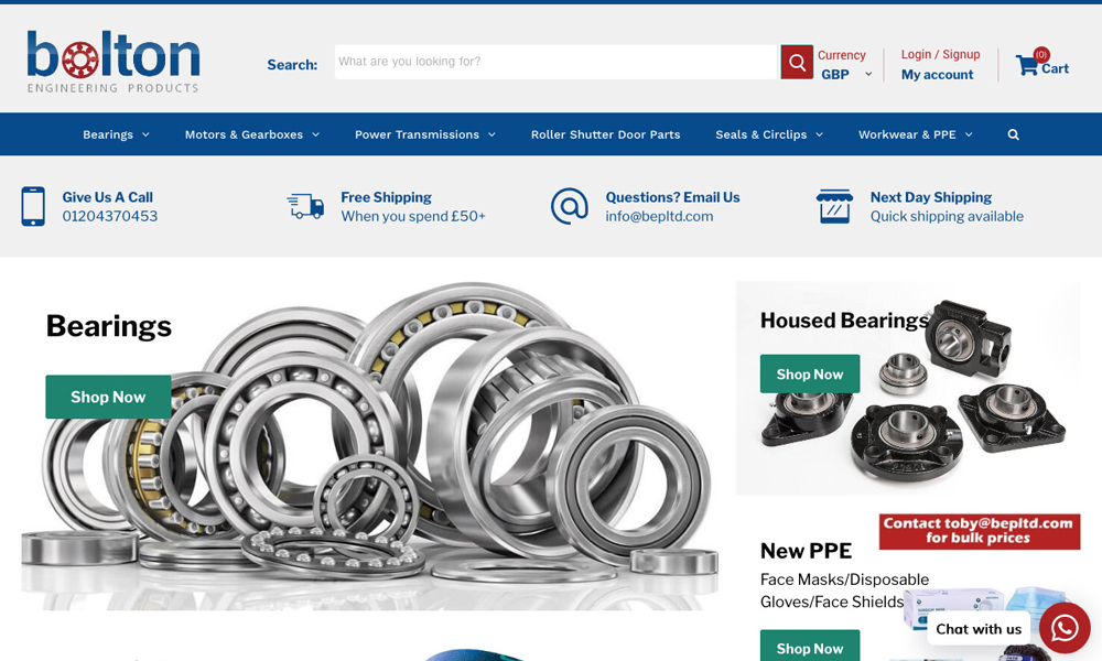 Bolton Engineering Products Ltd