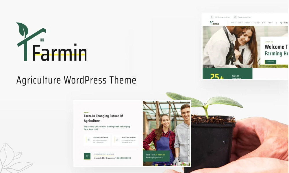 Farmin | Farming WordPress Theme