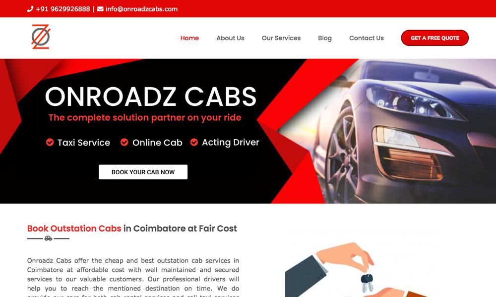 Onroadz Cabs
