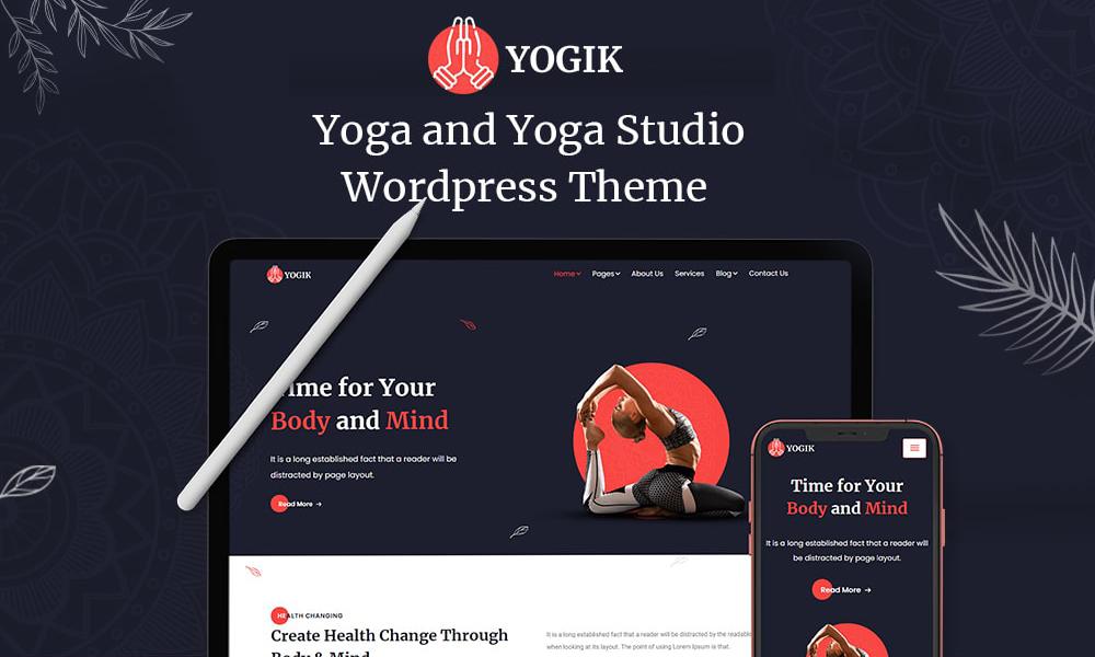 Yogik WordPress | Best Free WordPress Theme for Yoga Studio