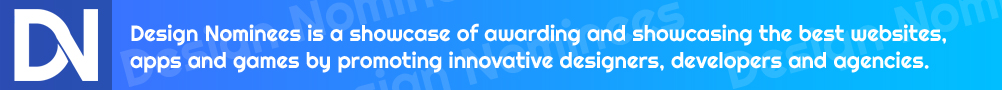 Design Nominees - CSS Awards | App Awards | Game Awards